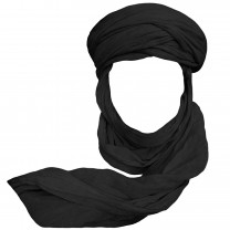Turbante negro desierto 3m الثام أسود