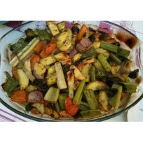 Verduras al horno 4 personas خضر مشوية