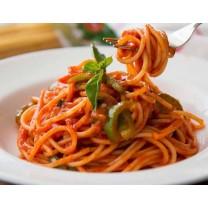 Espaguetis en salsa 4 personas سباقيتي