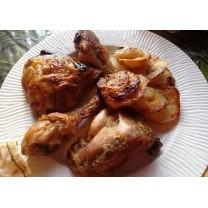 Pollo asado 4 personas دجاج مشوي