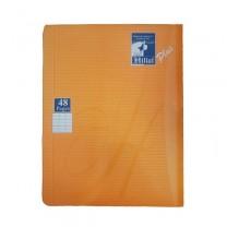 Cuaderno 48 páginas trazo milimetrado كراس