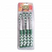 Pack 12 cuchillos pequeños para frutas y verduras