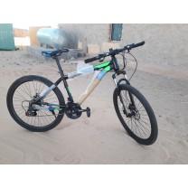"Bicicleta Gevatti 26"" cuadro aluminio para tallas +12años"