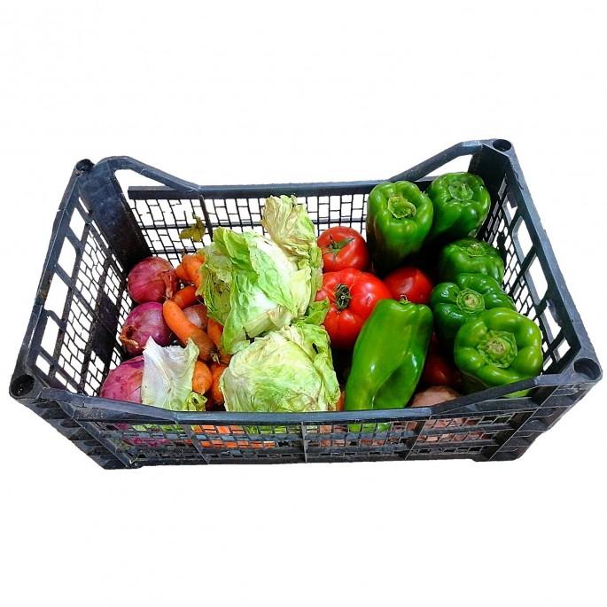 Caja verduras disponibles كانجو خضروات متاحة