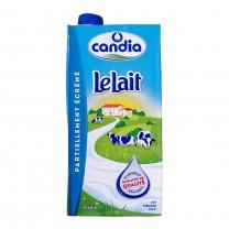 Leche  semidesnatada candia 1L حليب كنديا