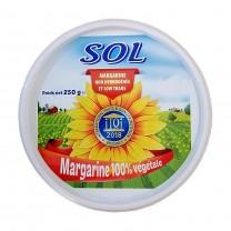 Margarina vegetal SOL 250g زبدة صول