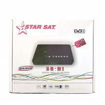 Receptor demodulador integrado DVB STAR SAT SR-M1