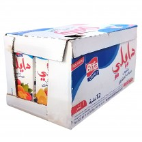 Pack 12 × 1L Zumos Cocktail de frutas Daily  كرطون عصير الفواكه دايلي