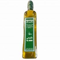 Aceite de oliva en botella de cristal 500ml  زيت زيتون في قارورة زجاج