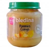 Compote de pommes et de coings Bledina 130g كمبوطة التفاح و الكمثري