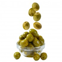 Aceitunas verdes a granel 250g زيتون أخضر