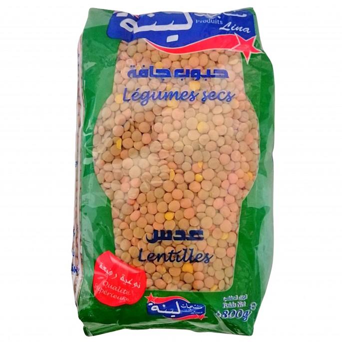 Lentilles legumes secs 800g