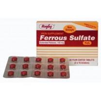 Ferro sulfate 100mg, 30Comprimidos, Hierro