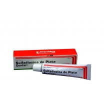 Sulfadiazina Argéntica al 1% Crema para quemaduras
