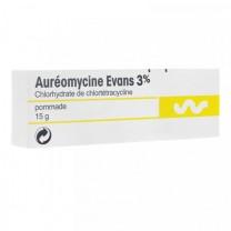 Chlortetracycline  Pomada antibiótico  3%(15g)