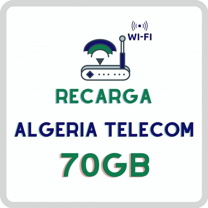 Recarga de Wifi (4G.LTE): 40Gb Acceso ilimitado con reduccion de velocidad