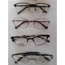 Gafas Adultos con marco con metal con o sin anti-reflectante + Graduación(Revisión)