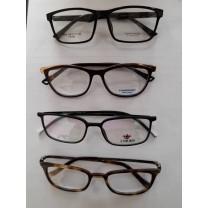 Gafas Adultos con marco con plástico con o sin anti-reflectante + Graduación(Revisión)
