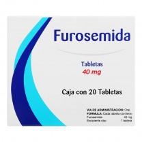 Seguril ( Furosemida) 40mg 20 comprimidos