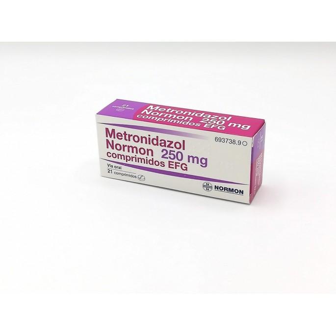 Metronidazol 250mg 30 comprimidos