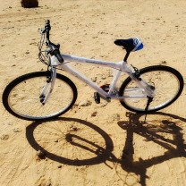 "Bicicleta Blanca TmV talla 26"" aluminio"