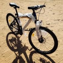 """Bicicleta Negra TMV 2G Talla 26"""" aluminio"""