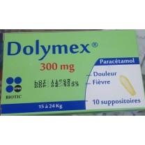 Paracetamol Supositorio 300mg (