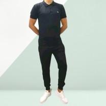 Conjunto deportivo camisa polo Lacoste y pantalon (elige talla y color)