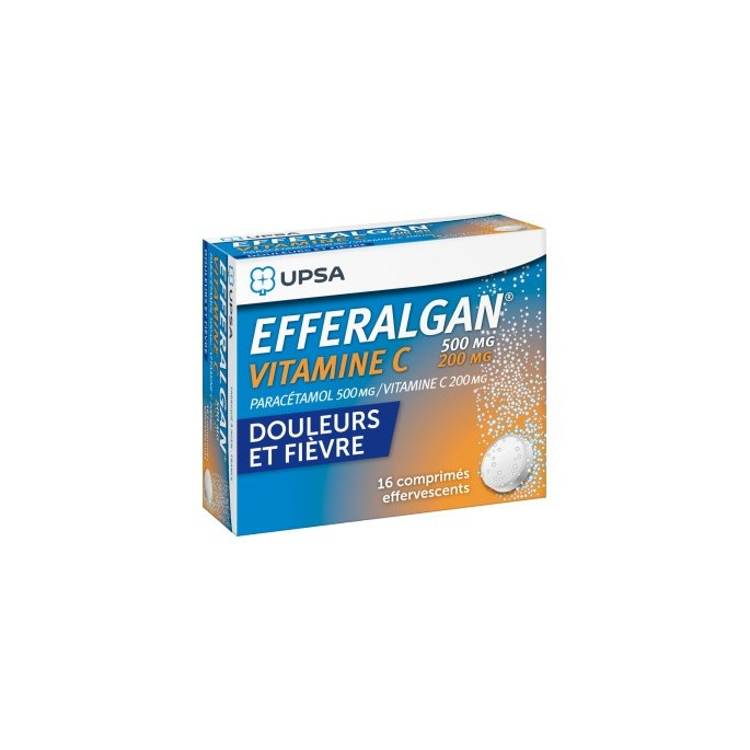 Paracetamol 500mg + Vitamina C 200mg