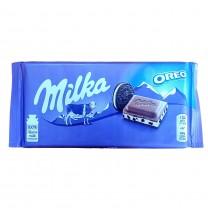 Chocolat au lait MILKA Oreo 100g