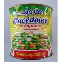 Macedonia verduras y legumbres 400g خليط معلب خضروات و حبوب