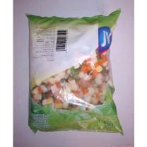 Menestra congelada de verduras JV 1kg خليط مجمد من الخضروات