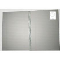 Cuadernos pequeño 40 hojas trazo líneas horizontales
