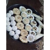 Dulces artesanales con frutos secos 500g نص كيل حلويات المكسرات