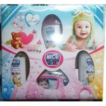 Pack higiene bebé champú, colonia, jabón, leche de toilette