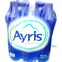 Agua mineral AYRIS 6x1.5L حزمة ماء معدني
