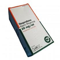 Iboprofeno botella 20mg suspensión oral para niños