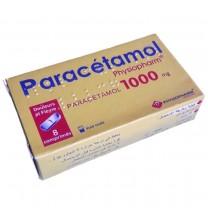 Paracétamol comprimidos 1000mg vía oral para los adultos