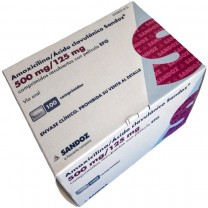 Amoxicilin 500mg/125mg Ácido clavulánico para adultos