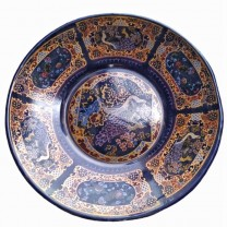 Plato popular para comida familiar 32cm طيس الطاووس