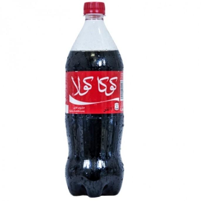 Refresco COCACOLA 1L مشروب كوكا كولا