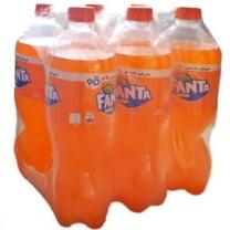 Pack Fanta naranja 1L x6U حزمة فانتا برتقال