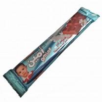 Trocito de chocolate Vegano con leche sabor a fresa 22g