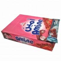 AMIN Pack chocolate con leche sabor a fresa 24U 528g