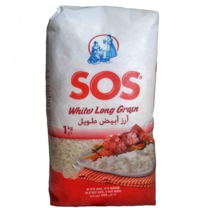 Arroz largo  SOS 1kg أرز صوص