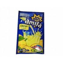 Zumo de limón en polvo para diluir AMILA sobre 40g Pack 15U.