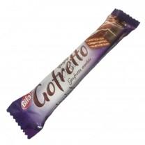 Trocito de gofrit cubierto con chocolate Gofretto 22g