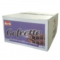 Pack trocitos de gofrette cubierto con chocolate Gofretto 22g X 48U
