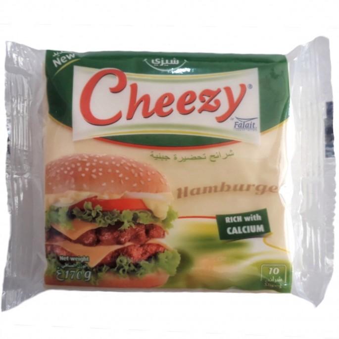 Rebanadas de queso cheezy 170g