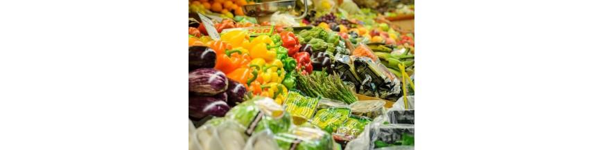 carnes frutas verduras